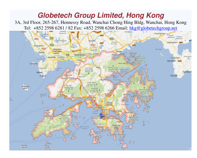 Globetech Group Limited, Hong Kong